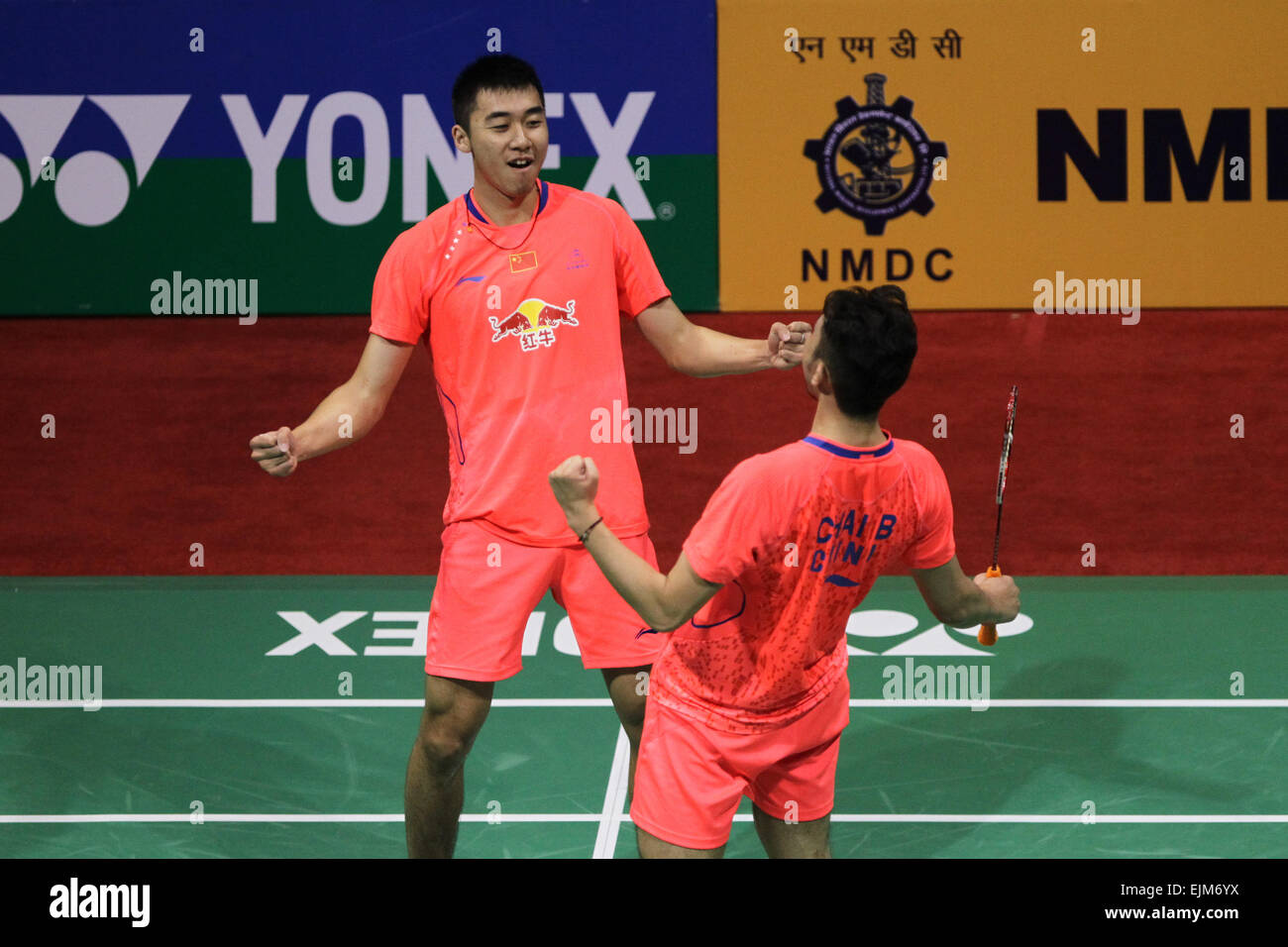 Chinese pair enters final at Yonex Sunrise Indian Open (2