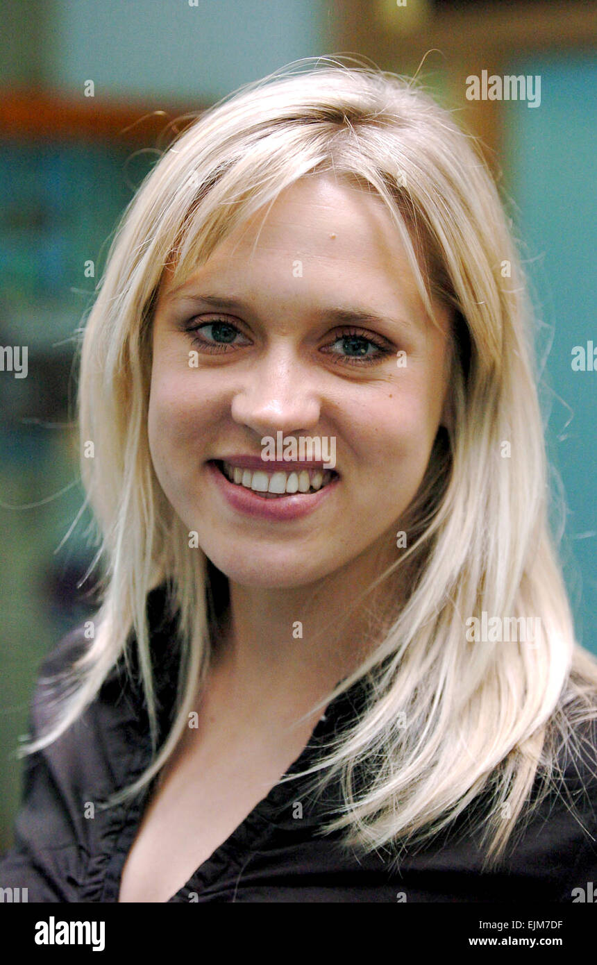 Actress Beth Cordingly who went to Brighton and Hove High School  Photograph taken March 2005 - Stock Image