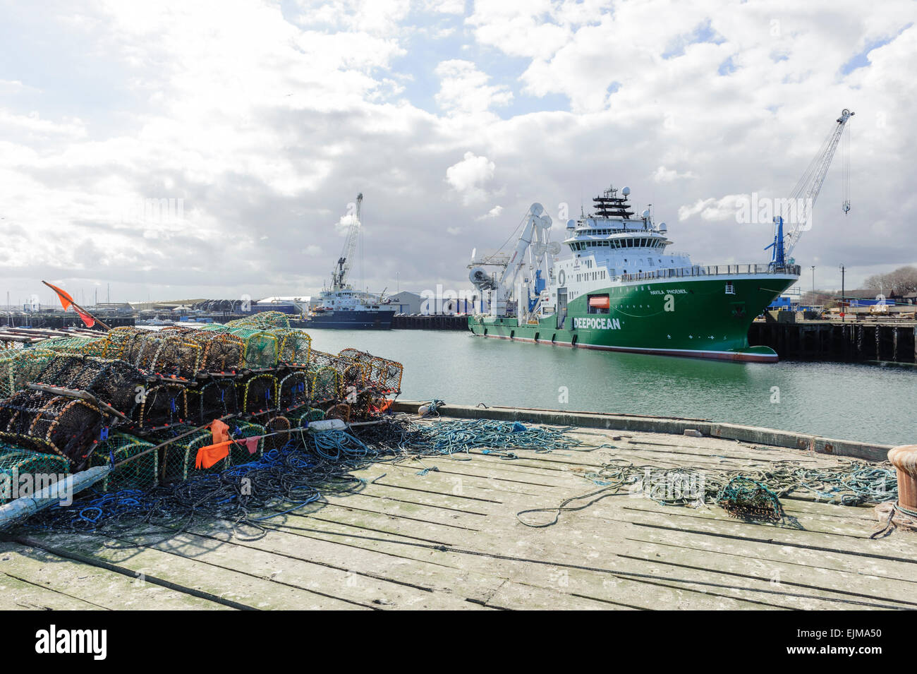 Havila Pheonix Ship Stock Photo