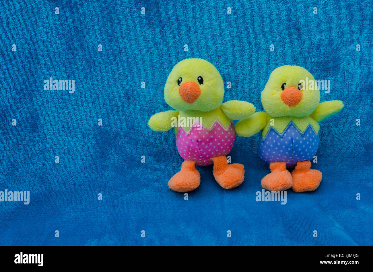 Soft Toys Baby Boy And Baby Girl Hatchlings Chicks For Easter On