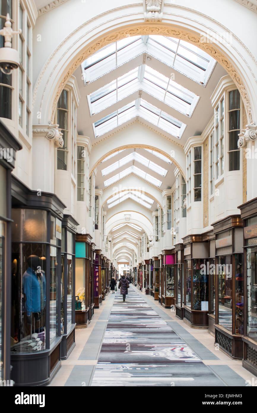 Burlington Arcade, Mayfair, London - Stock Image