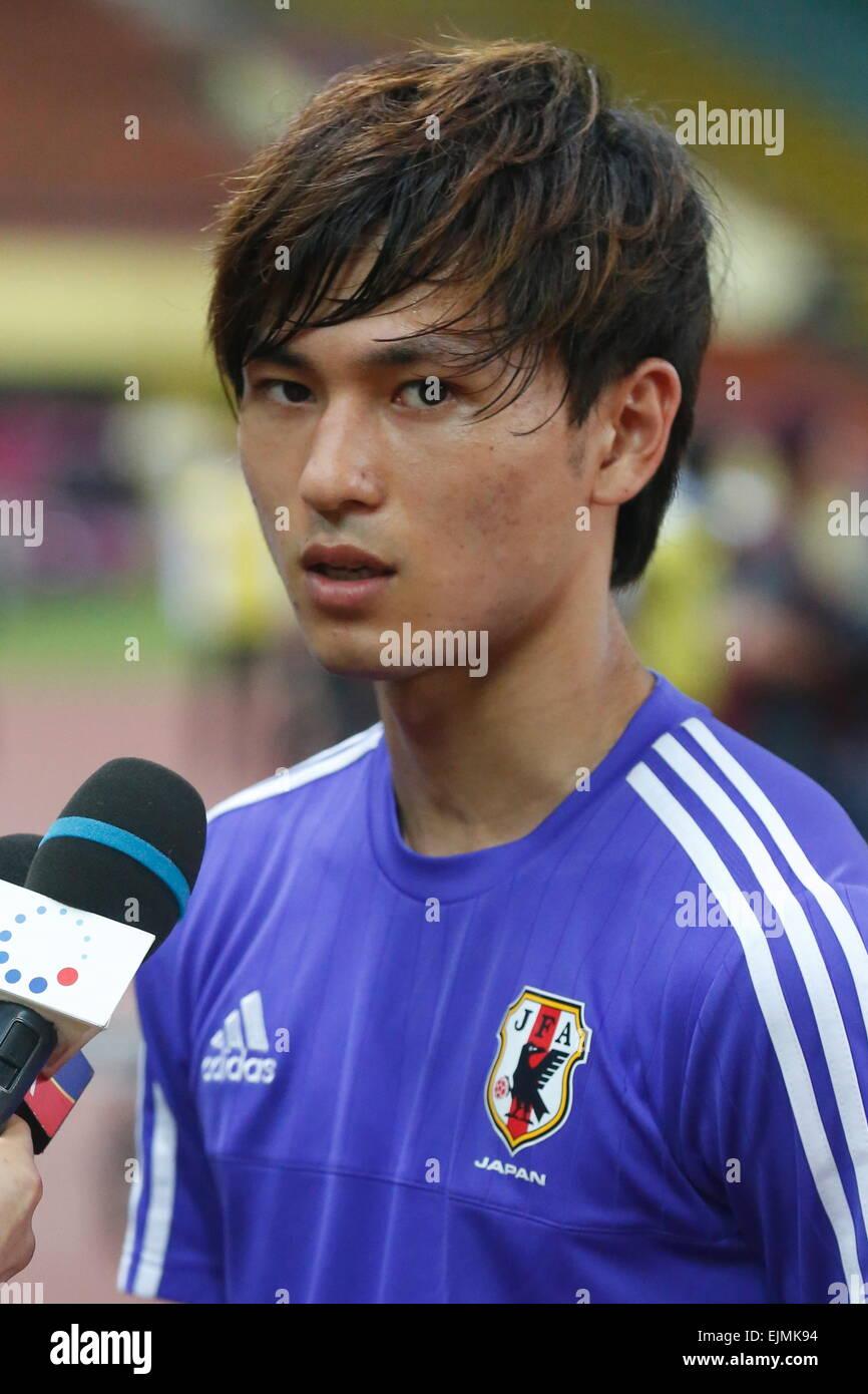 Shah Alam, Malaysia. 29th Mar, 2015. Takumi Minamino (JPN ...