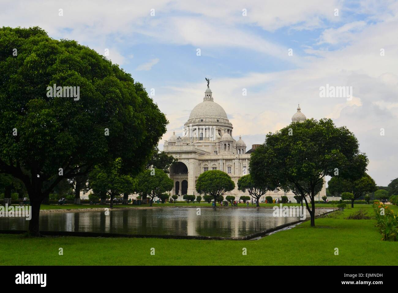 Victoria Memorial in Kolkata India - Stock Image