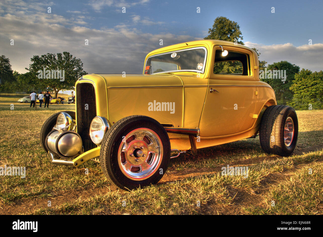 1932 ford model b 3 window coupe hot rod