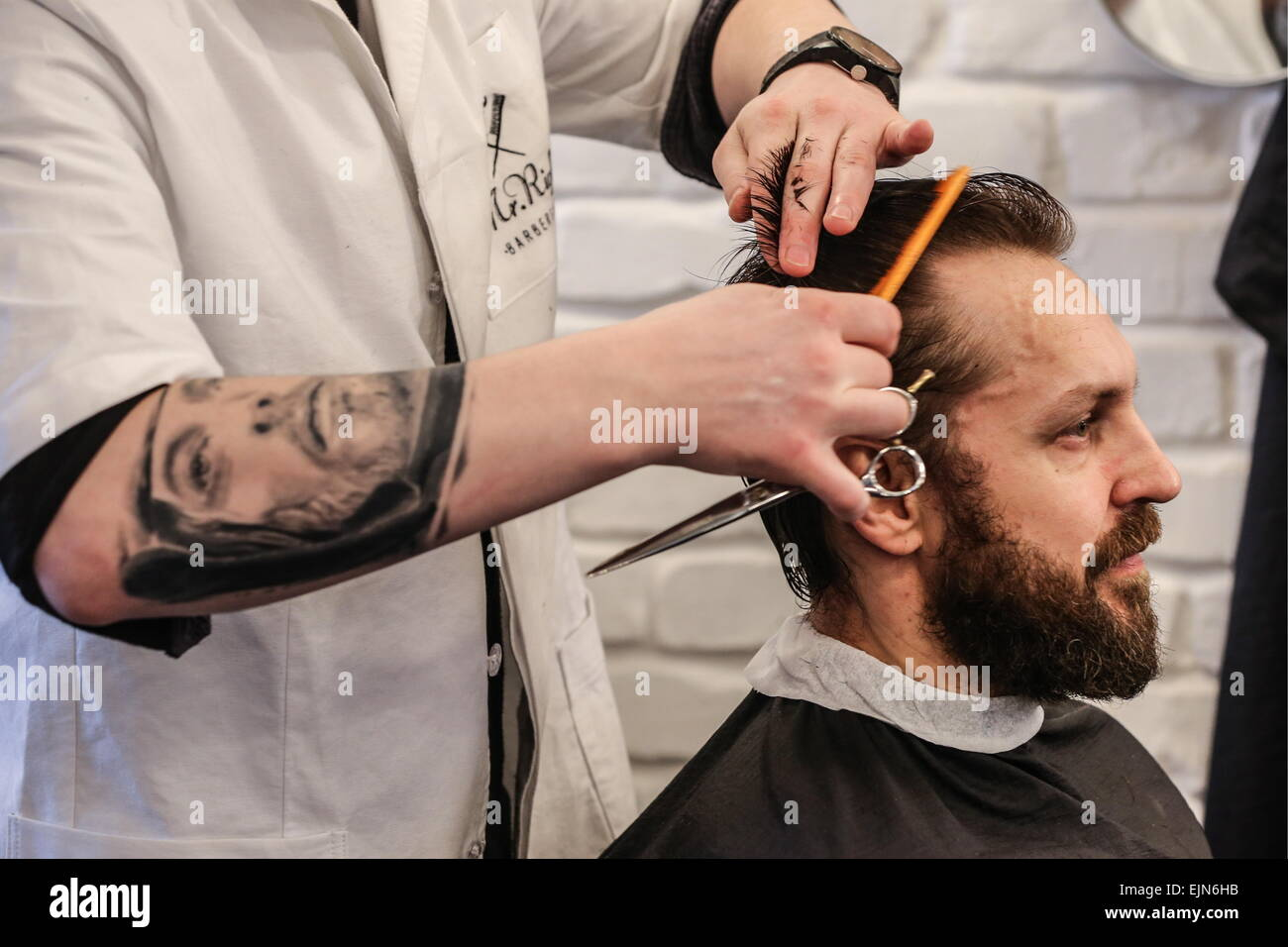 Barber shop for men. Moscow 35