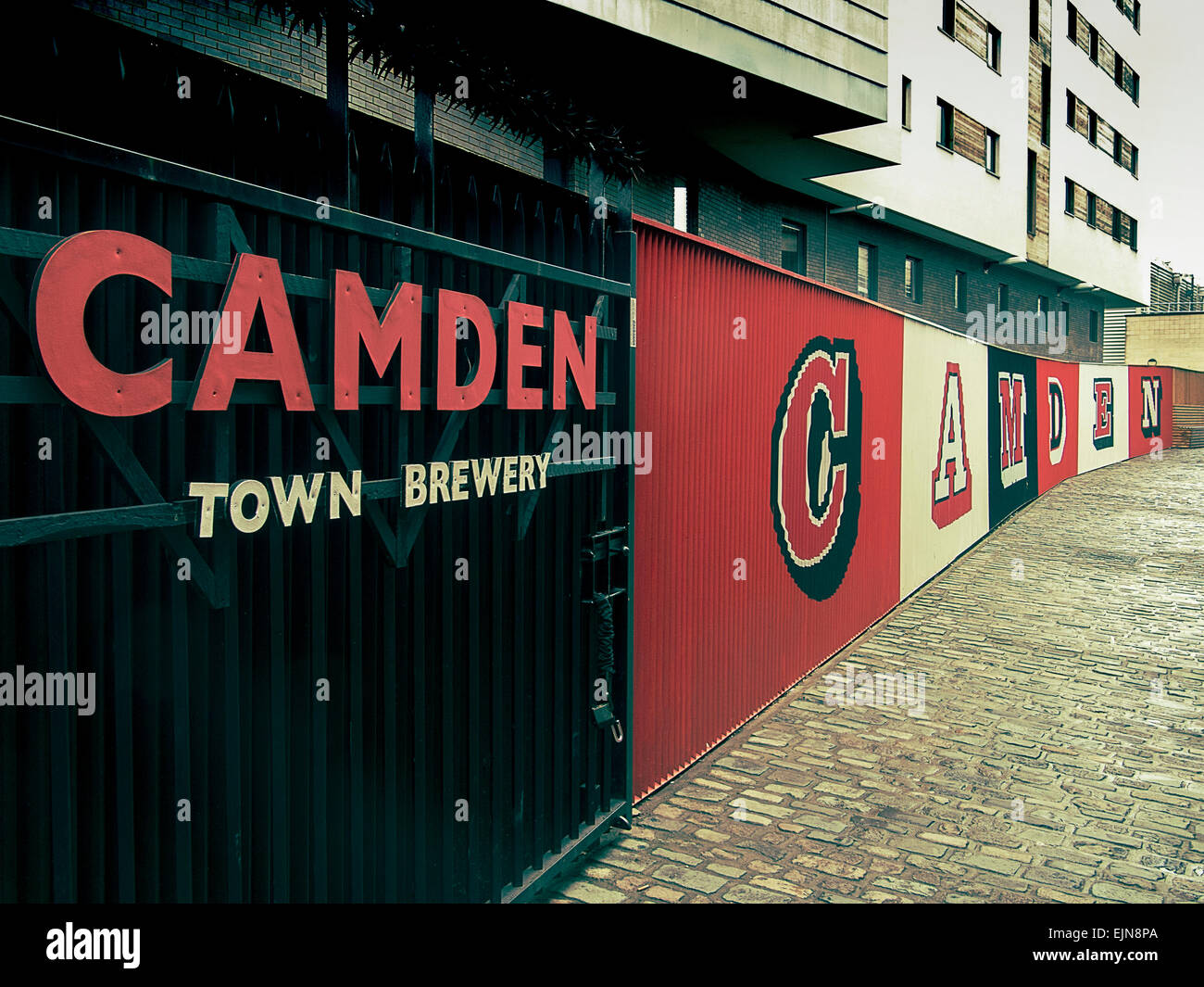 Camden Town Brewery HQ London UK - Stock Image