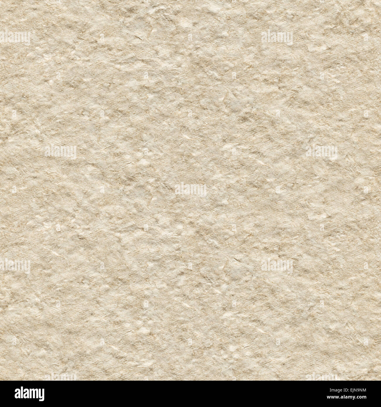 Seamless paper texture, rough recycled cardboard background - Stock Image