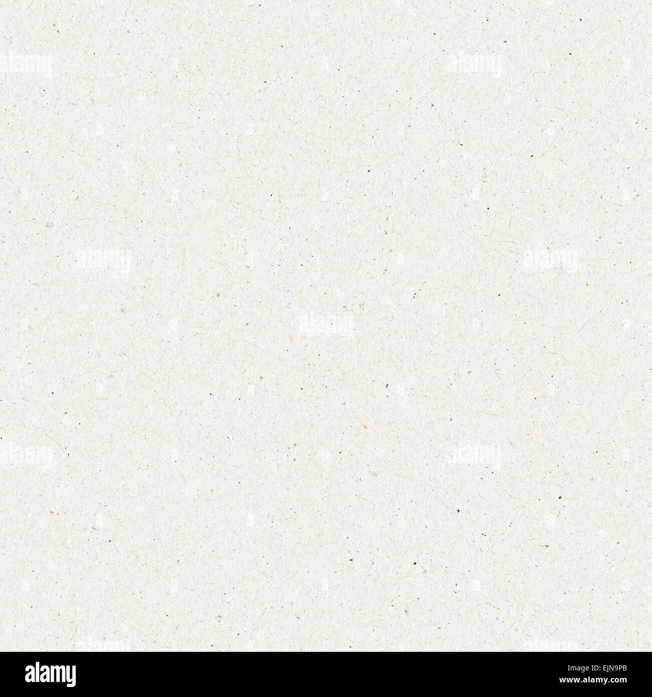 seamless paper texture, white cardboard background - Stock Image