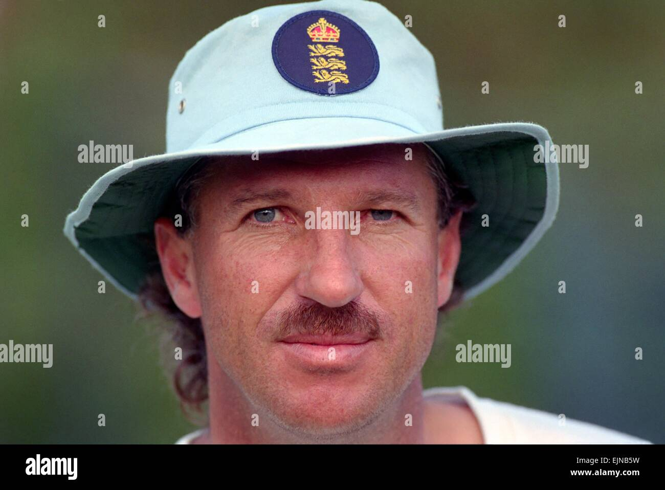 Cricket World Cup 1992 - Australia: Ian Botham. March 1992 DM-1894-397 - Stock Image