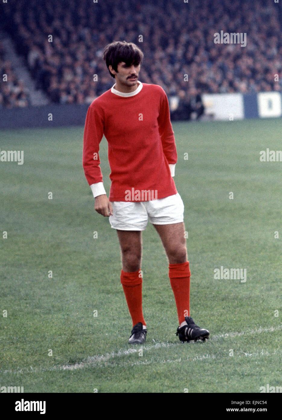 big sale 3ba84 dd9d1 George Best Manchester United football player, warns up ...