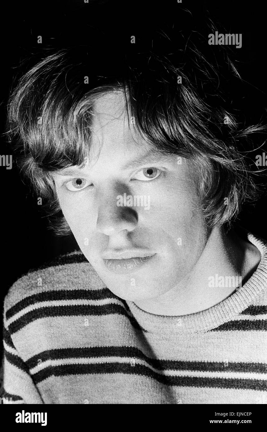 Mick Jagger of The Rolling Stones in the studio after meeting fans on Broadway. 2nd June 1964. - Stock Image