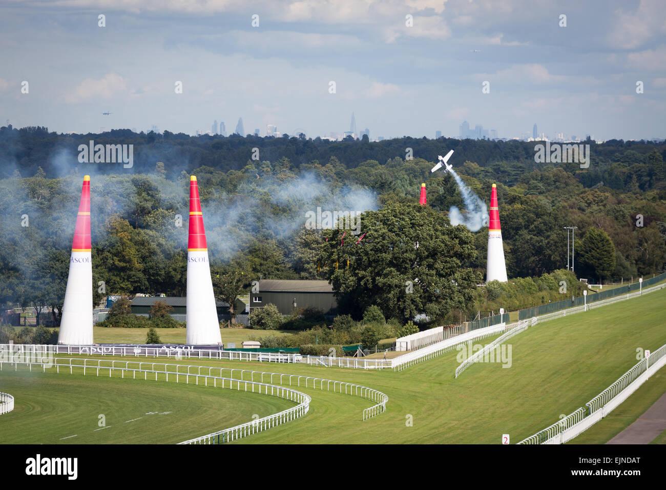 Ascot Racecourse, Berkshire, England, UK  Red Bull Air Race