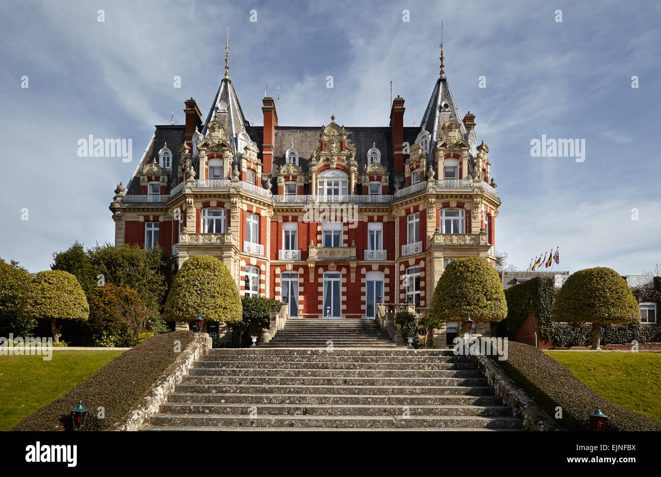 Chateau Impney English Hotel In Style Of French Chateau