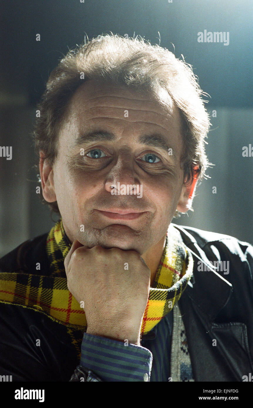 Dr Who, Sylvester McCoy during a BBC photocall to promote the new series of Doctor Who. 15th November 1988 - Stock Image