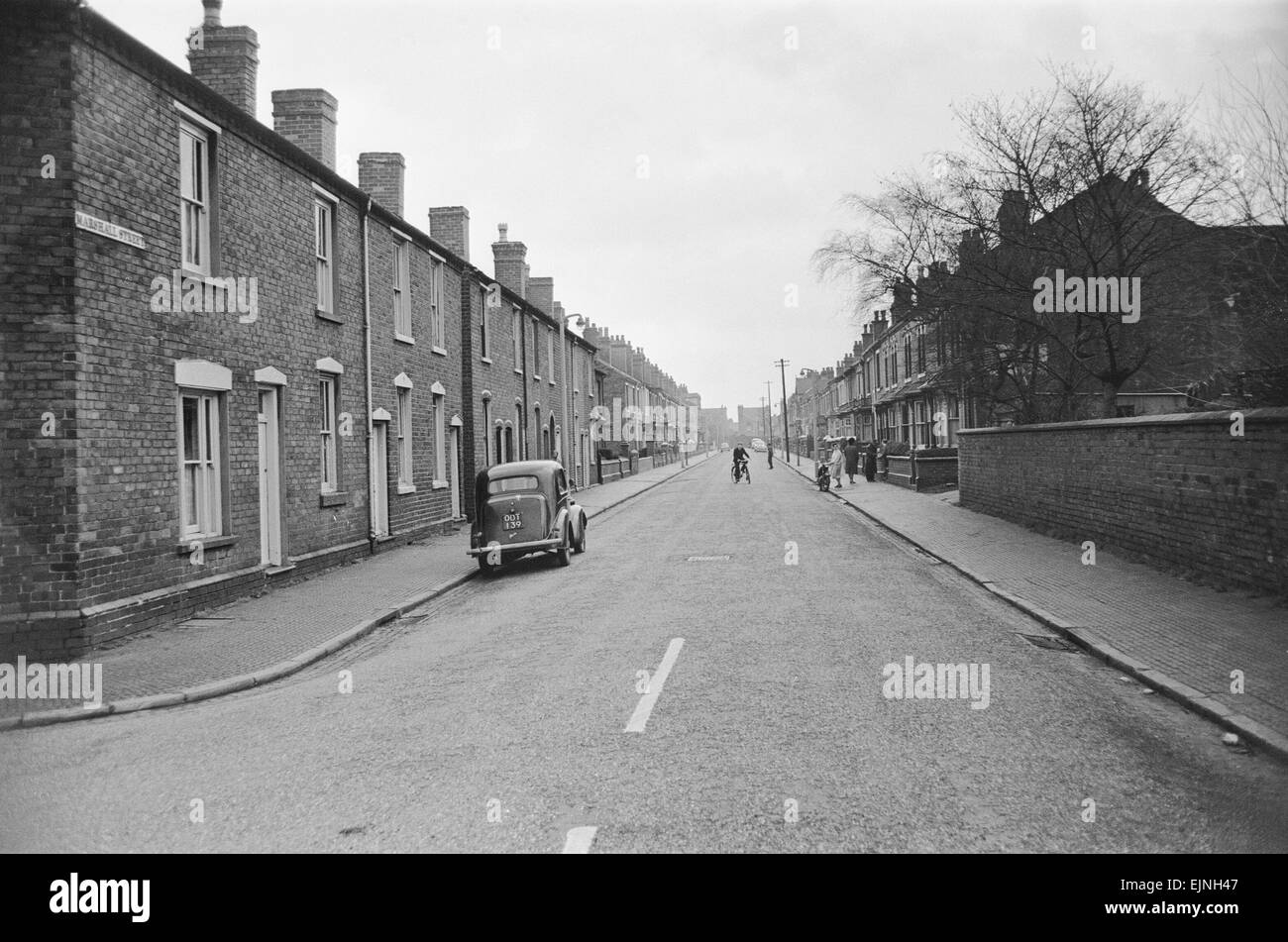 Marshall Street Smethwick 1st December 1964 *** Local Caption *** Watscan - - 23/04/2010 - Stock Image