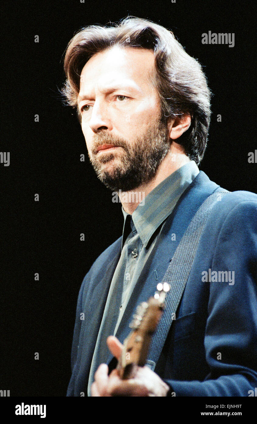 eric clapton on stage at the brighton centre brighton 1st february stock photo 80379876 alamy. Black Bedroom Furniture Sets. Home Design Ideas