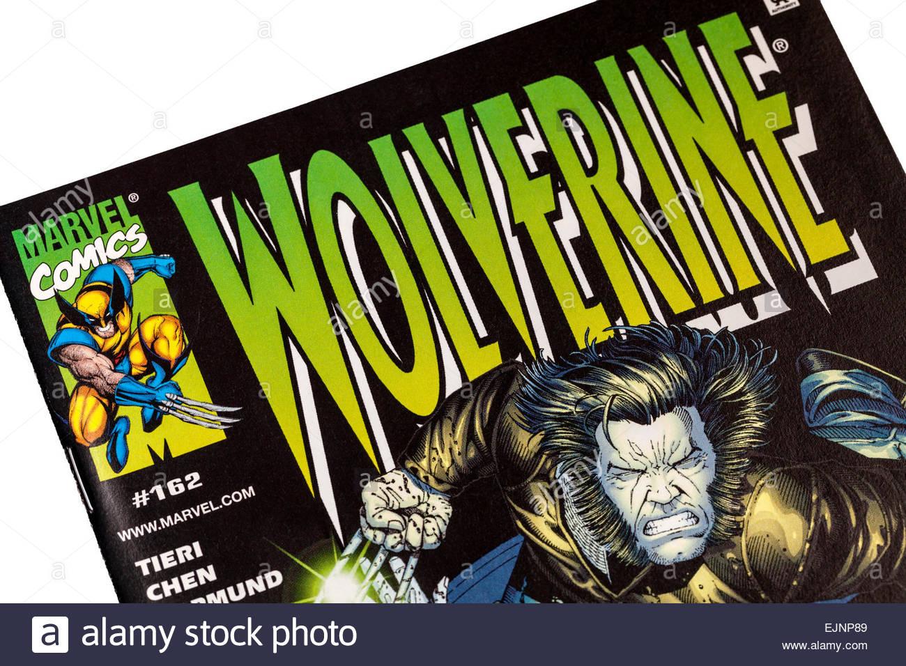 Wolverine Comic Stock Photos Wolverine Comic Stock Images Alamy