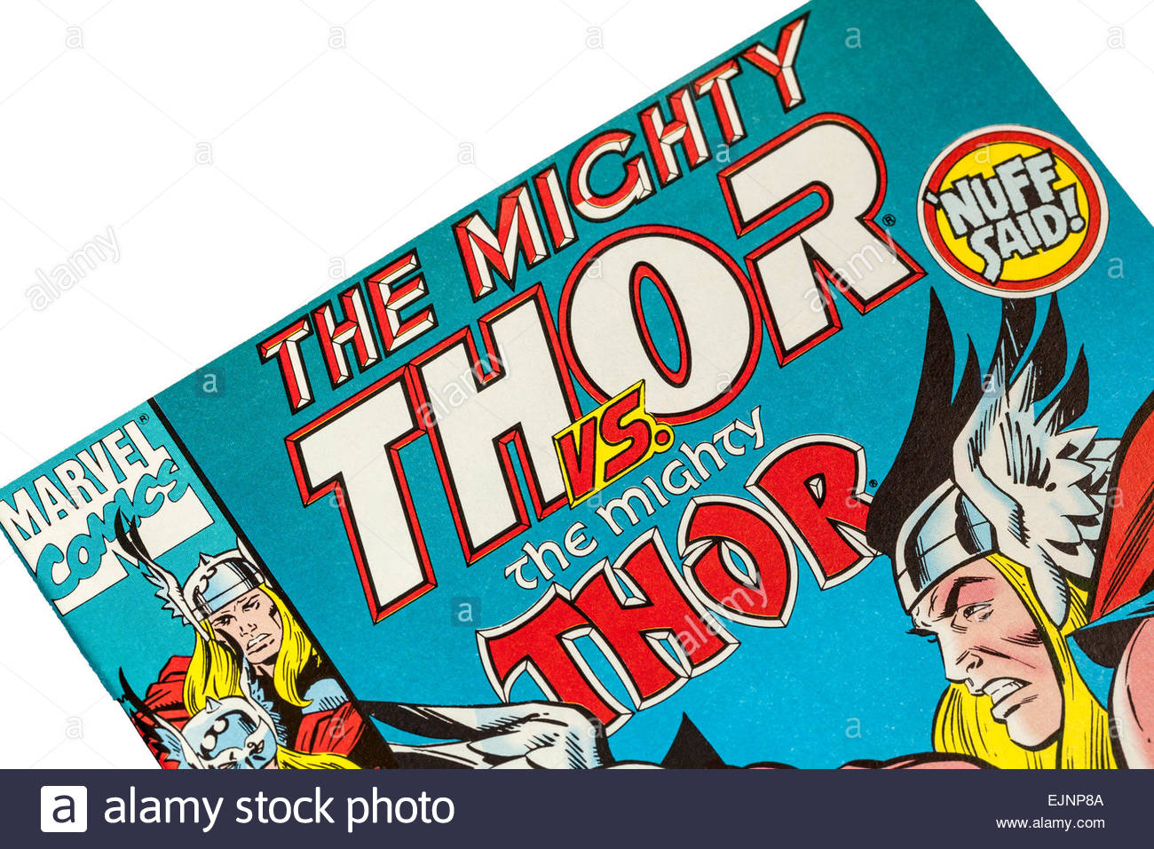 The Mighty Thor - Marvel Comics - Stock Image