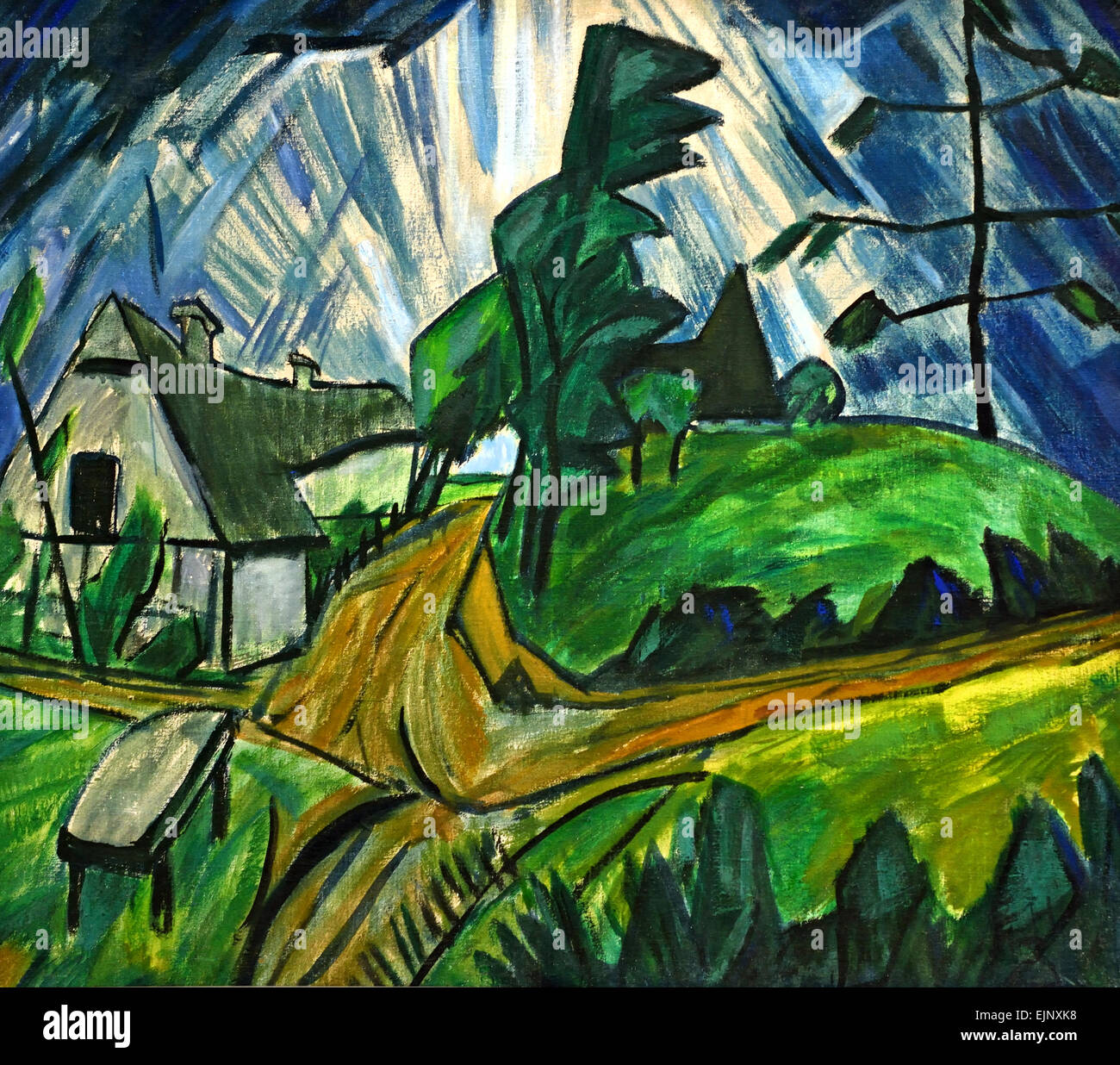 ernst ludwig kirchner 1880 1938 german germany stock photo 80387196