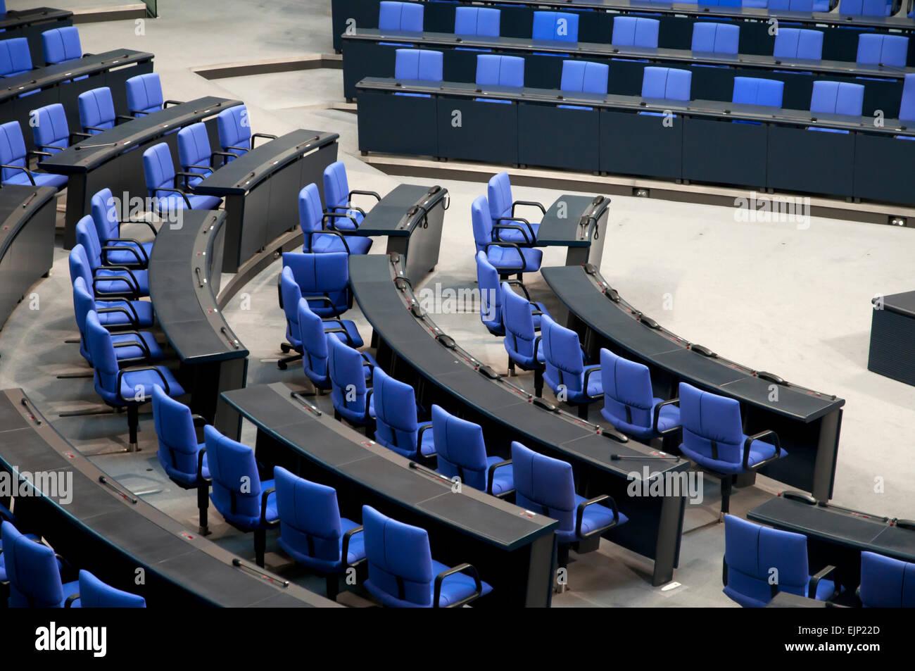Bundestag, Parliament Berlin, Germany, Europe - Stock Image