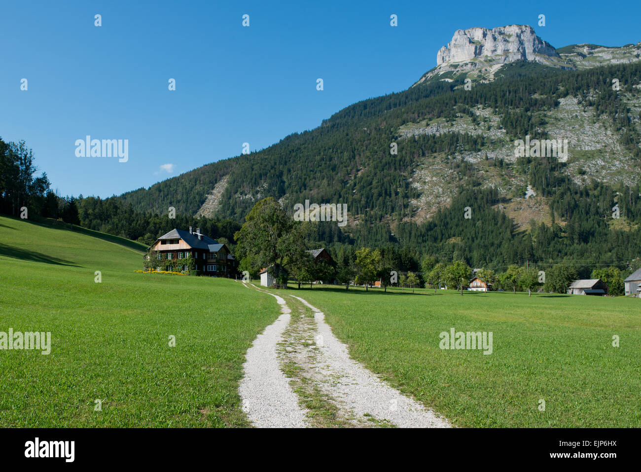 Reith, Altaussee, Loser, Salzkammergut, Ausseerland, Styria, Austria - Stock Image