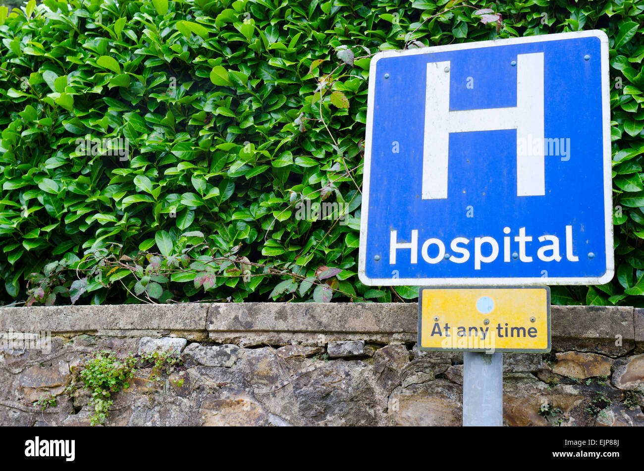 Seven day NHS - Stock Image