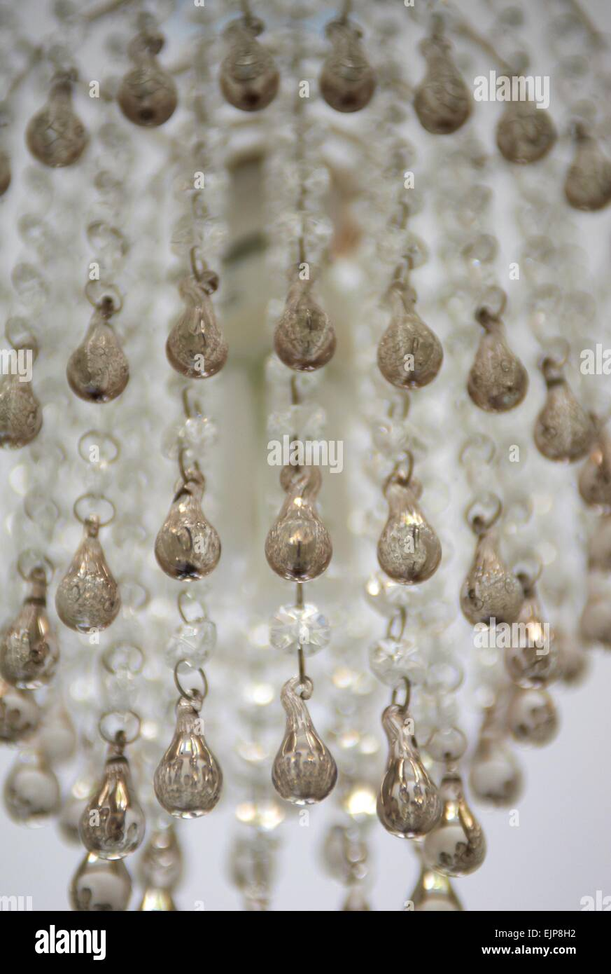 Chandelier Light Lamp Shade House Glow Bright Glass Bejeweled Jewels - Chandelier jewels crystals