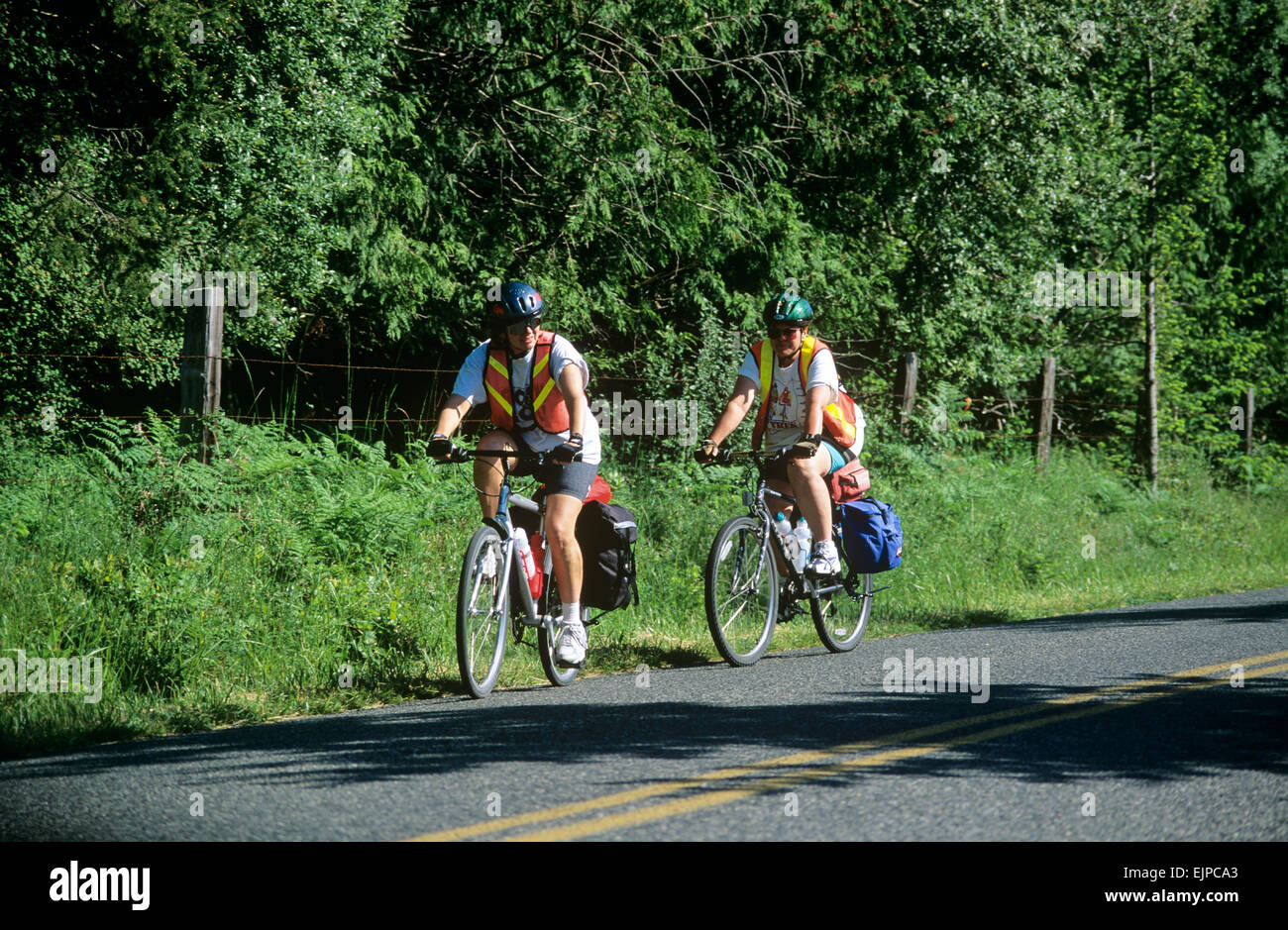 Cycling is the preferred mode of transportation on Lopez