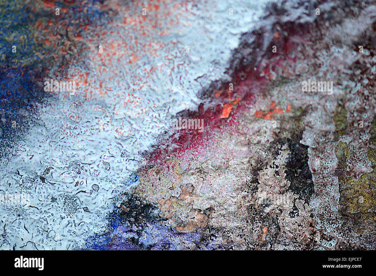 old paint wall Stock Photo