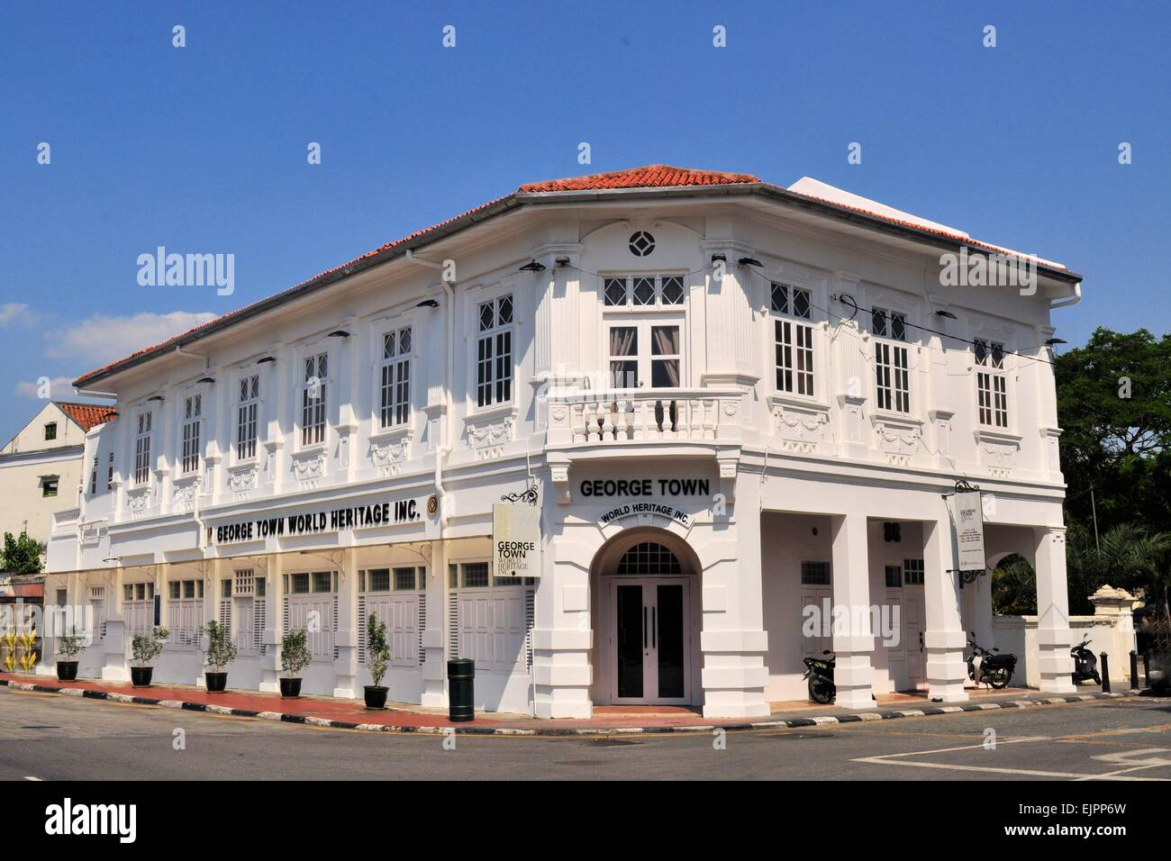 British Colonial Architecture Malaysia Stock Photos British