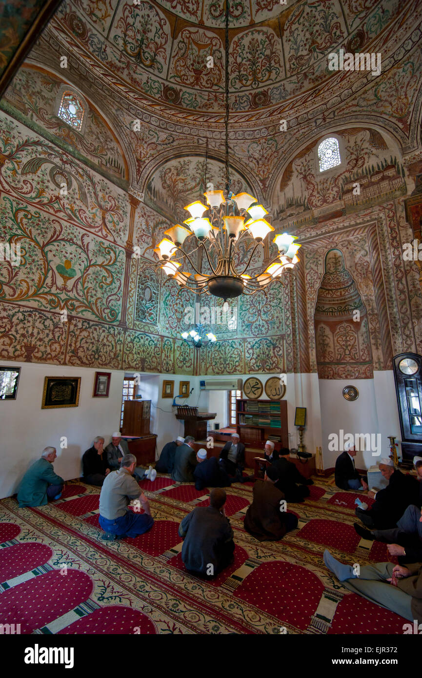 Et'hem Bey Mosque, Tirana, Albania Stock Photo