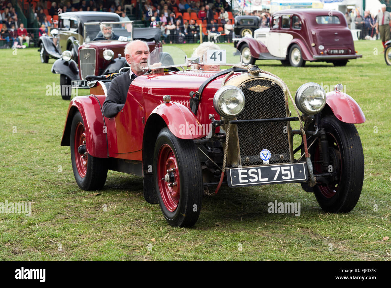 Classic cars on show Chatsworth Country Fair held every year on the ...