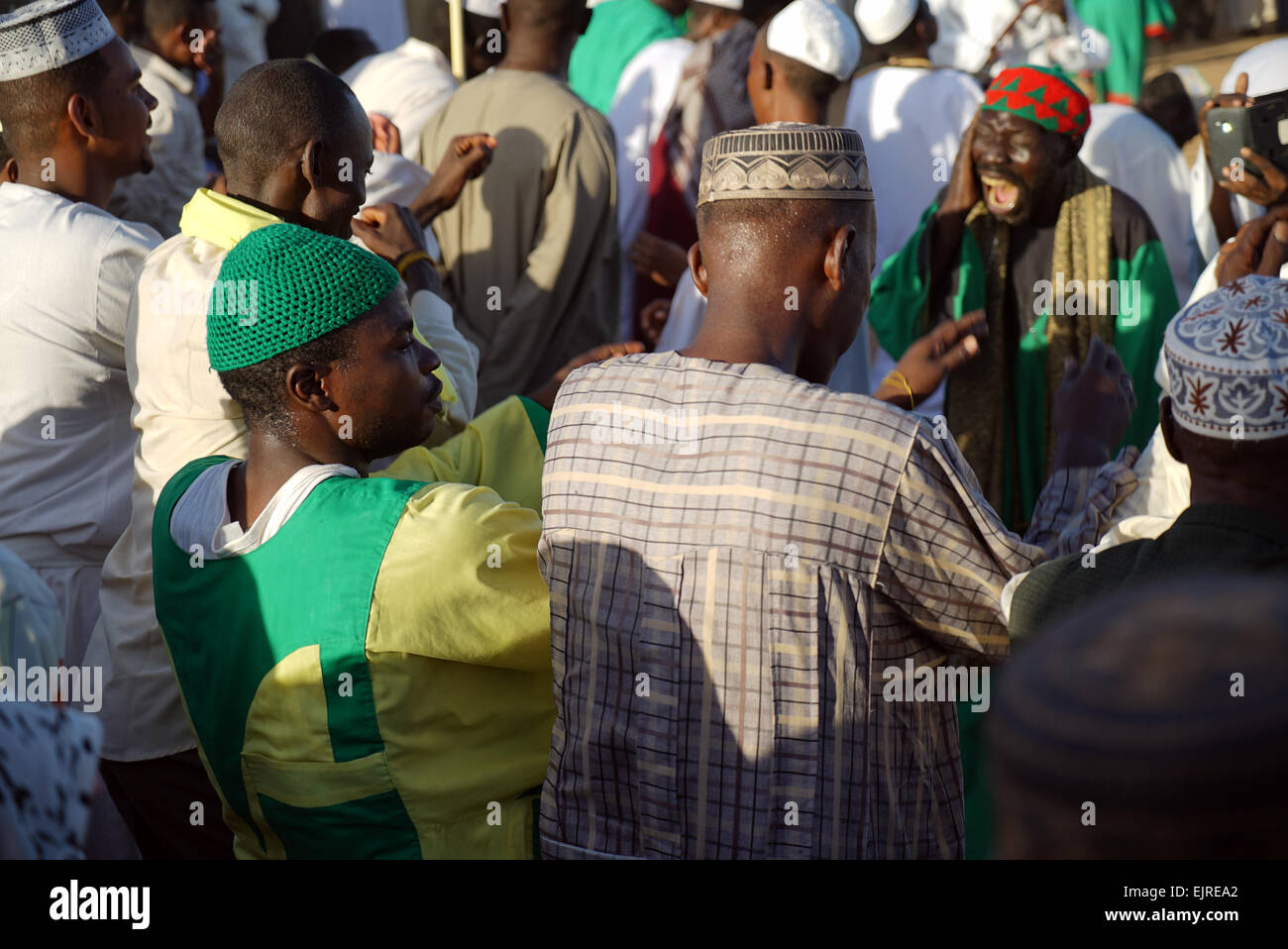 Sufis in Omdurman, near the capital city of Khartoum in Sudan - Stock Image
