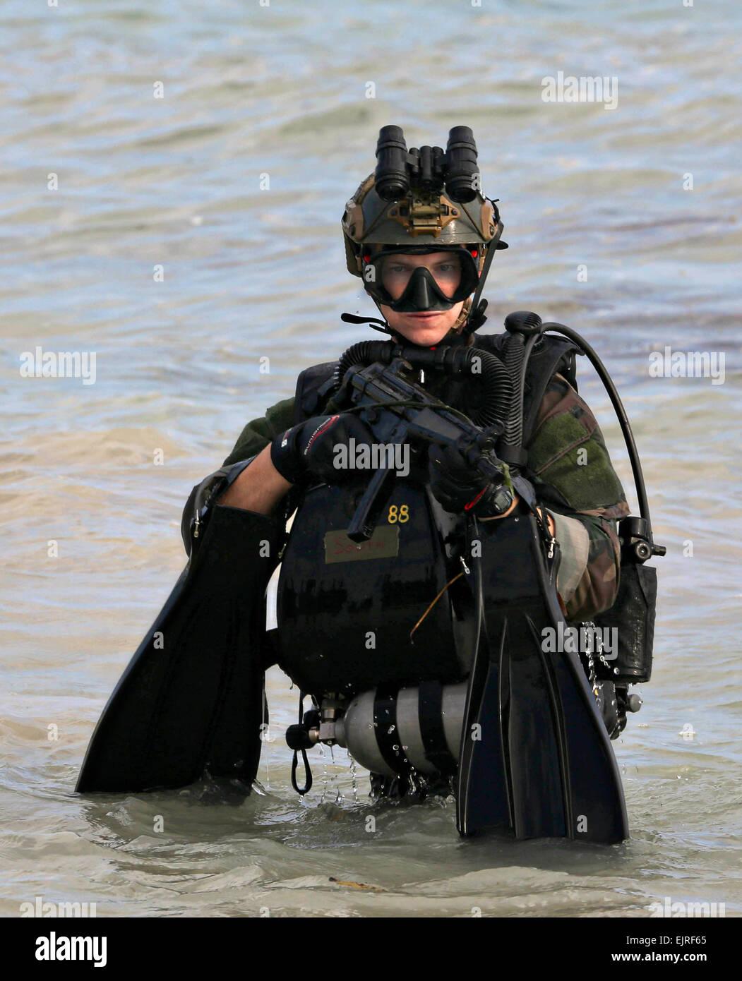 US Marines Reconnaissance Special Operations Commando