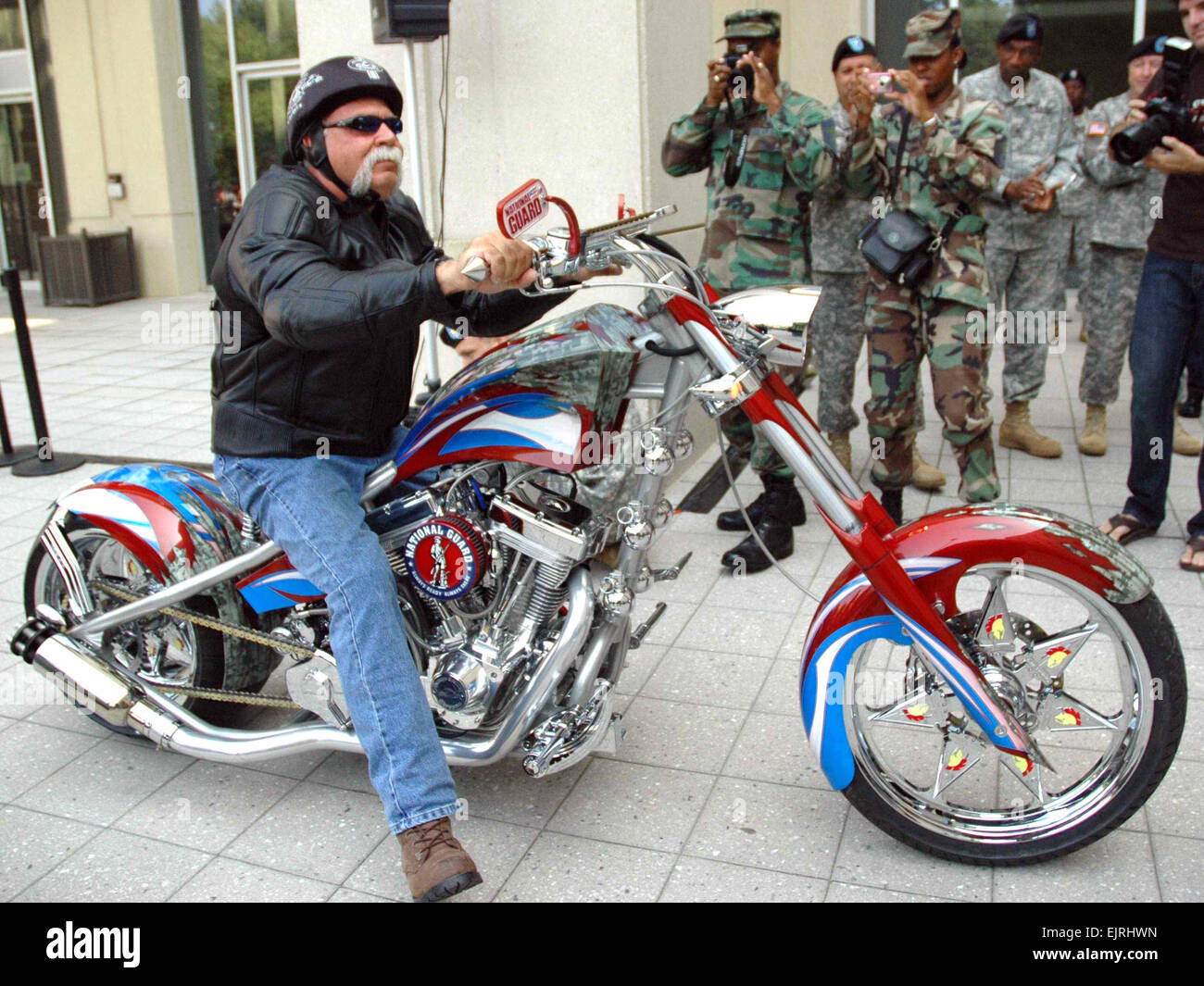 Paul Teutul Sr Of Orange County Choppers Fame Rides The