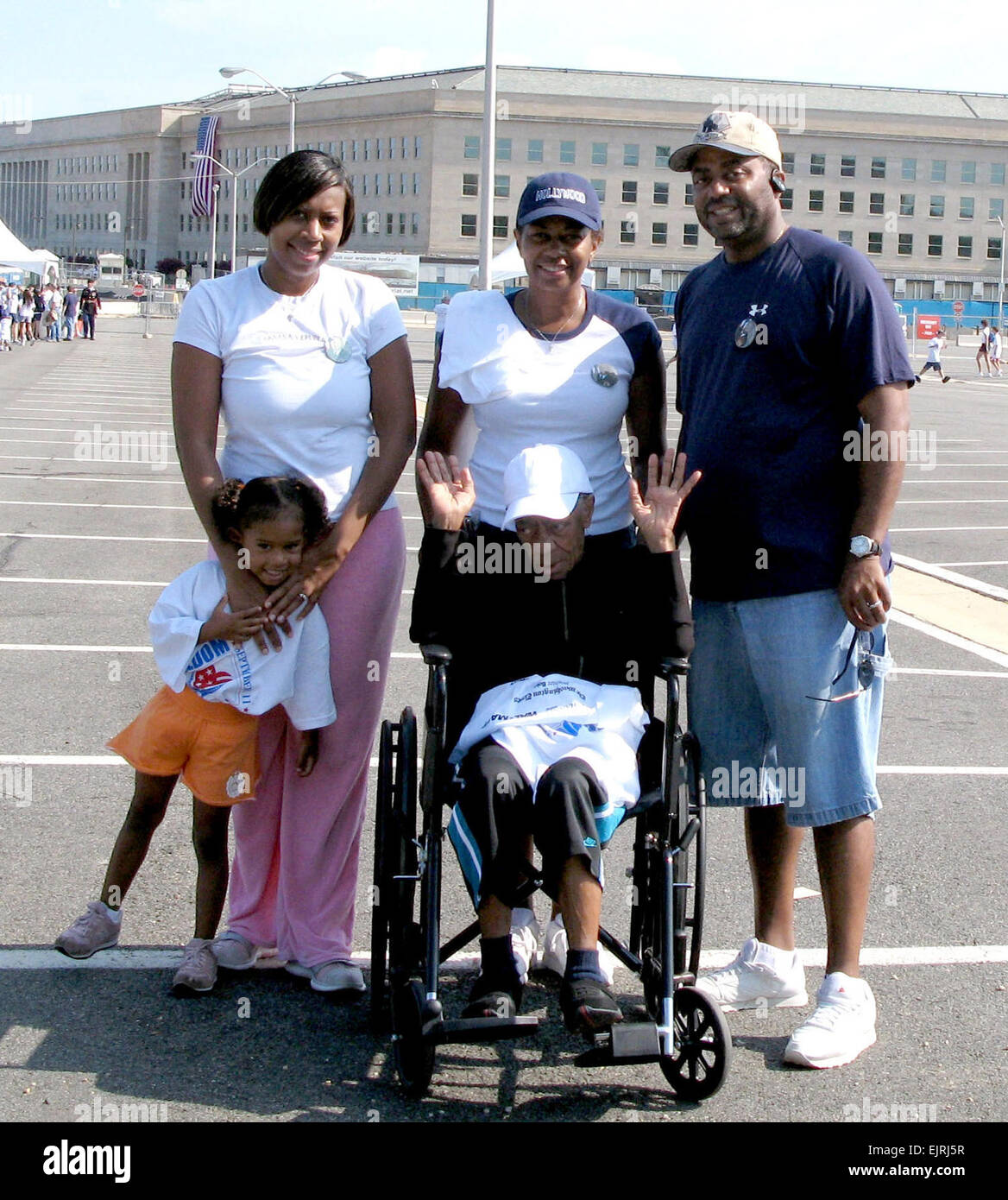 The family of Sgt. Maj. Lacey Ivory, who was killed during the Sept. 11, 2001, Pentagon attack, called the Freedom - Stock Image