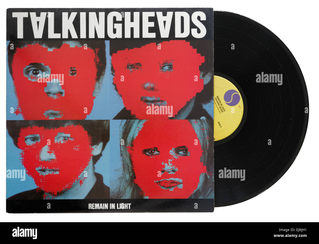 Talking Heads Remain in Light album - Stock Image
