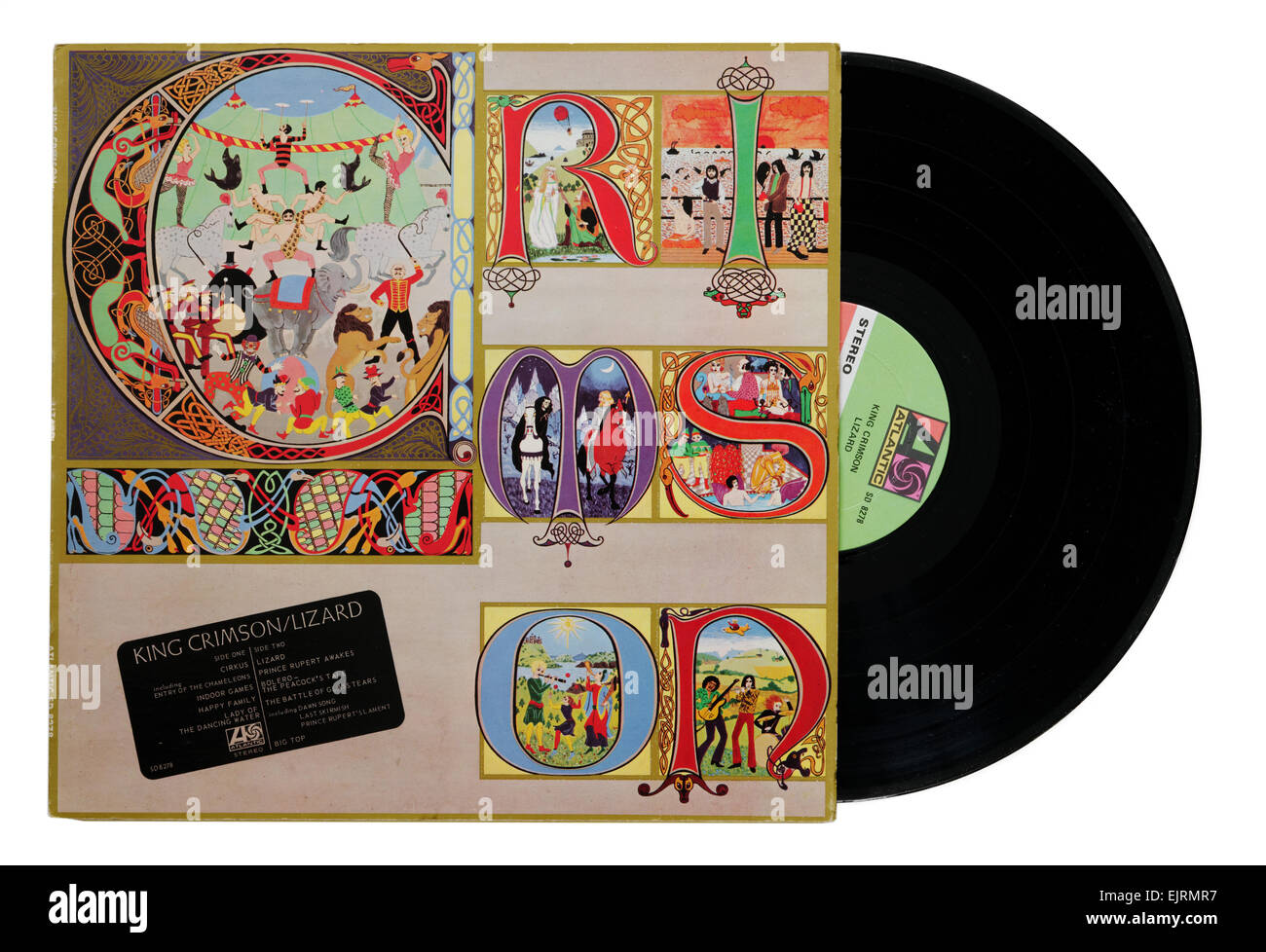 King Crimson album Lizard - Stock Image