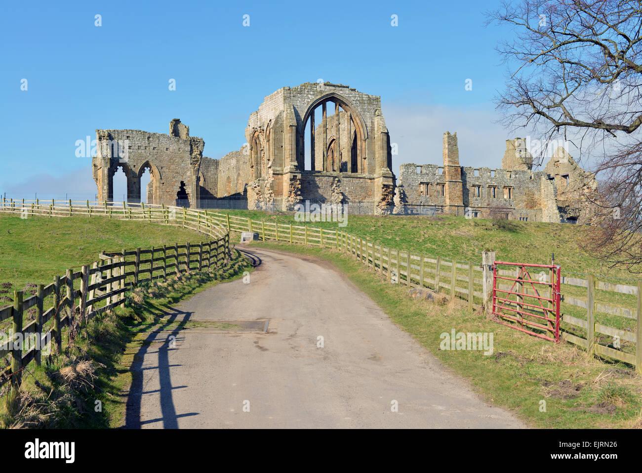 Egglestone Abbey, County Durham, UK - Stock Image