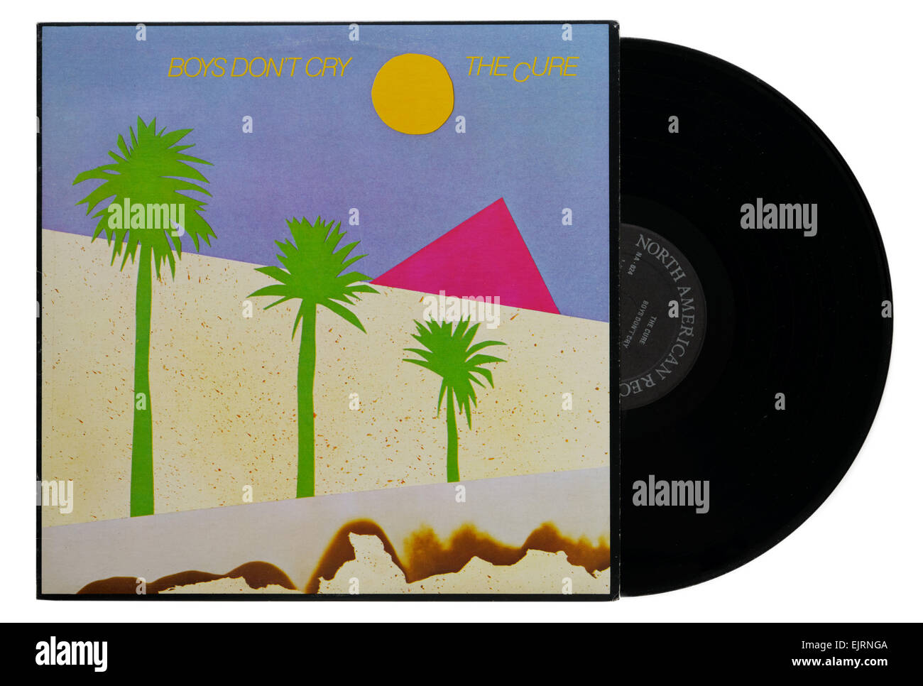 The Cure album Boys Don't Cry - Stock Image