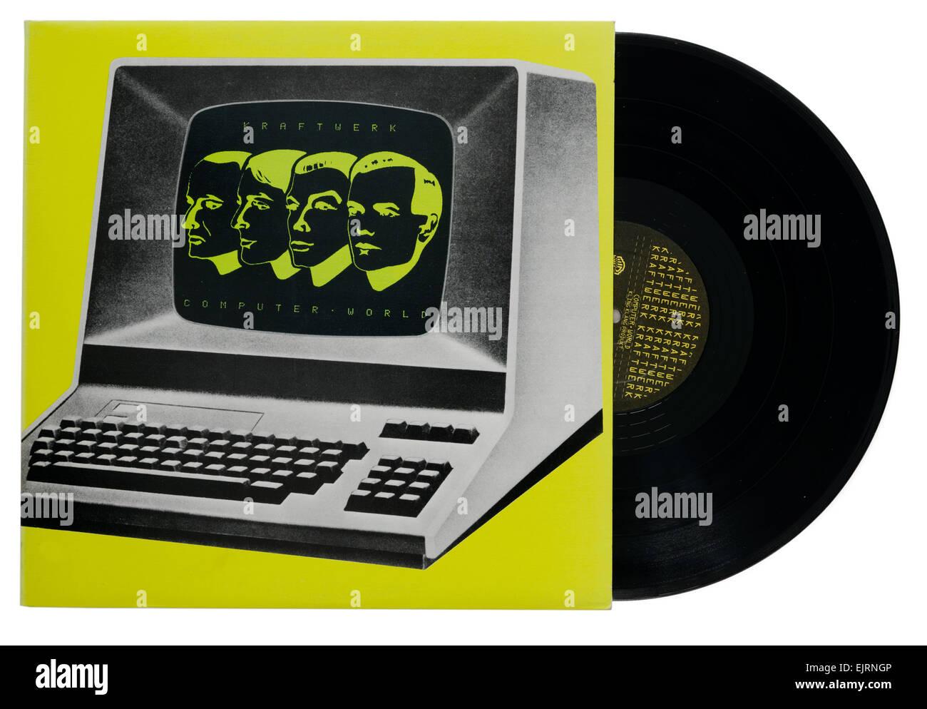 Kraftwerk Computer World album Stock Photo