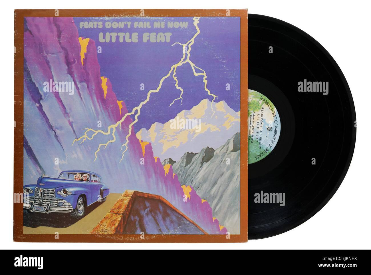 Little Feat album Feats Don't Fail Me Now - Stock Image
