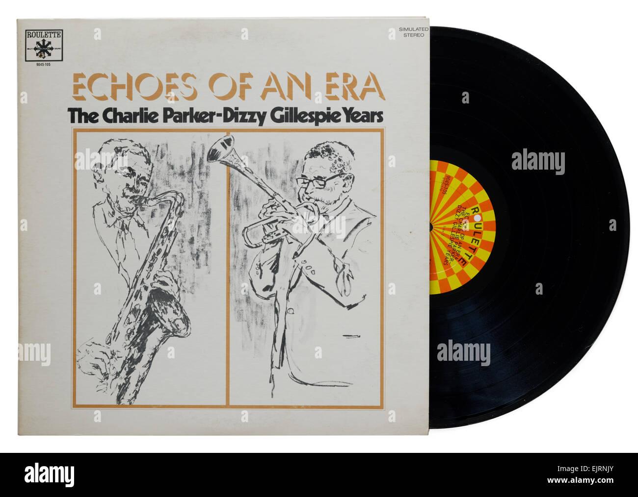 Charlie Parker Dizzy Gillespie jazz album - Stock Image