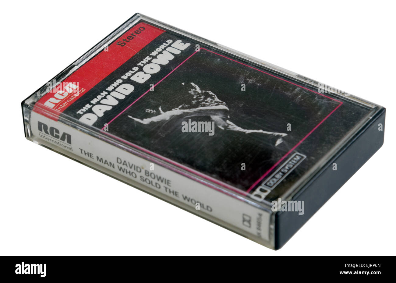 The Man Who Sold the World by David Bowie on cassette tape - Stock Image