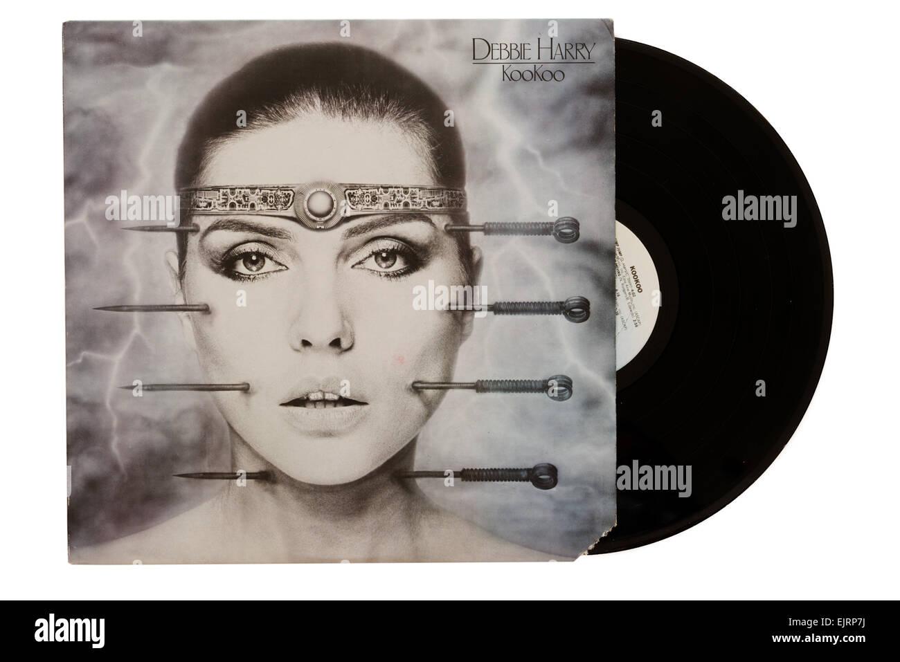 Debbie Harry Kookoo album - Stock Image