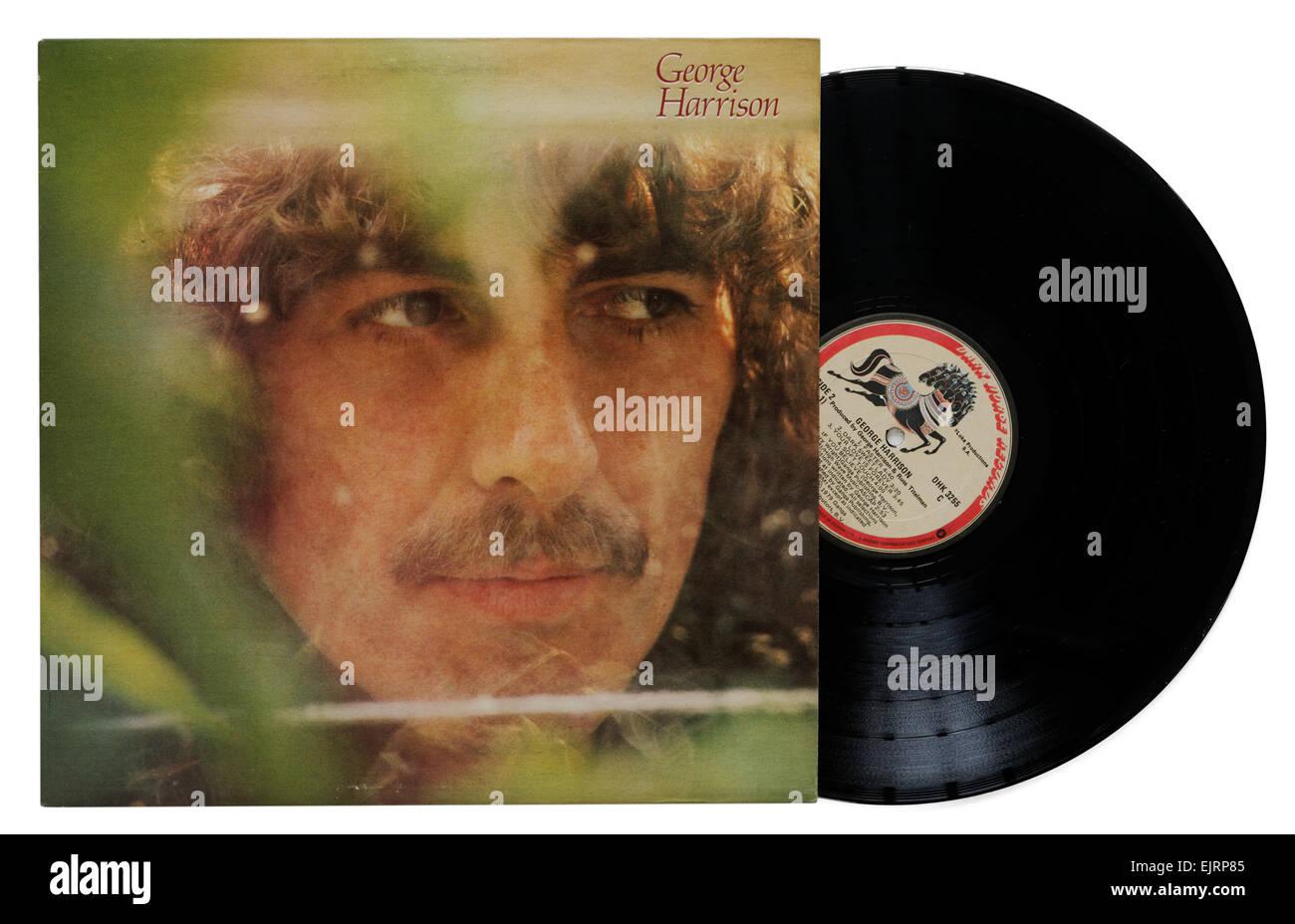 George Harrison album - Stock Image