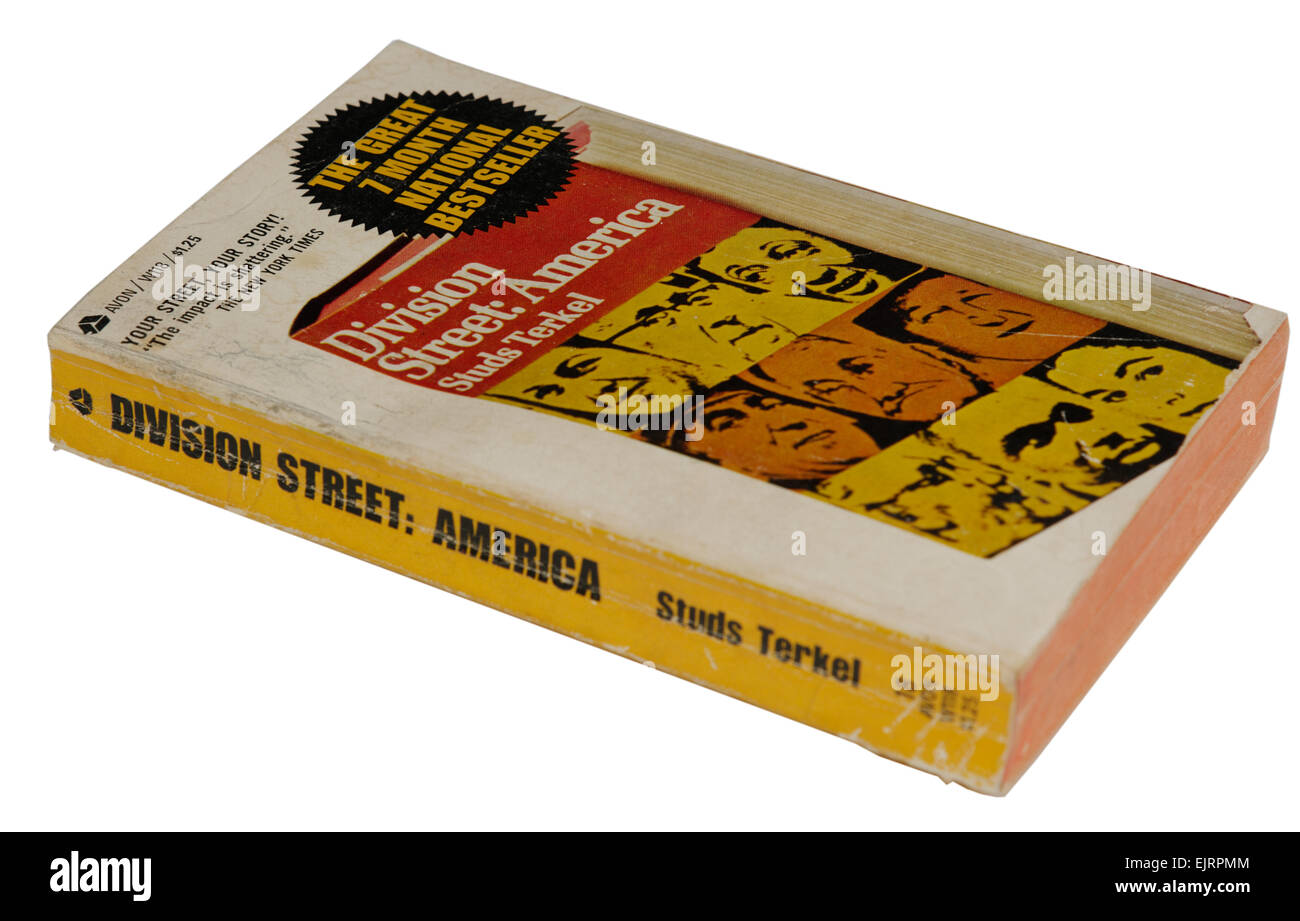 Division Street America by Studs Terkel - Stock Image