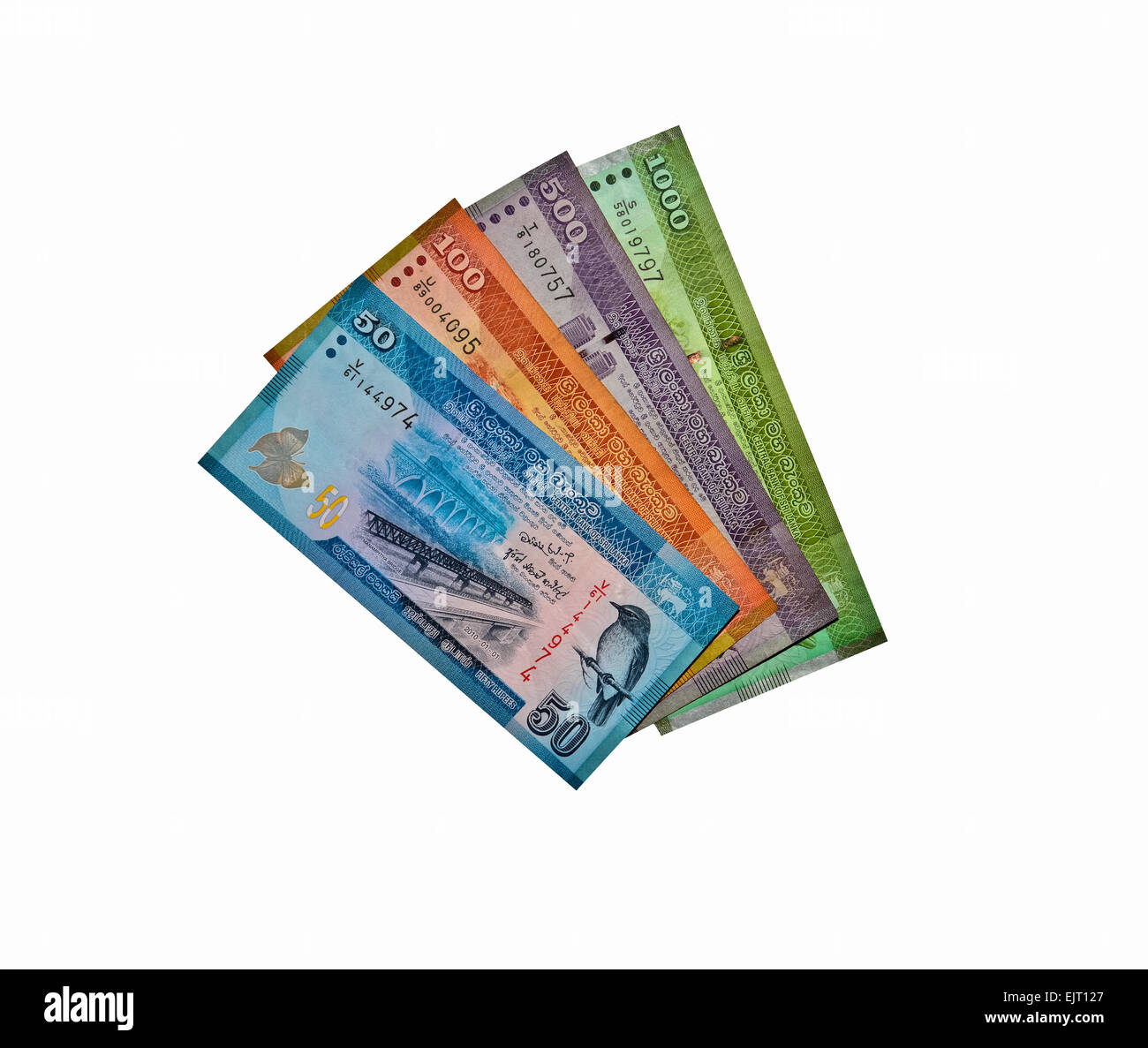 Sri lankan currency stock photos sri lankan currency stock images sri lankan currency rupee notes stock image altavistaventures Images