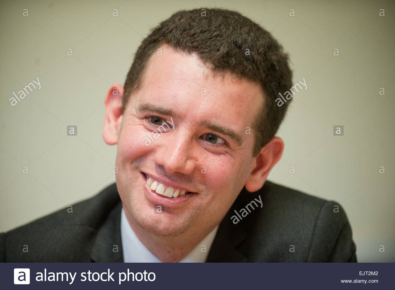 Liberal Democrat MP for Norwich South, Simon Wright - Stock Image