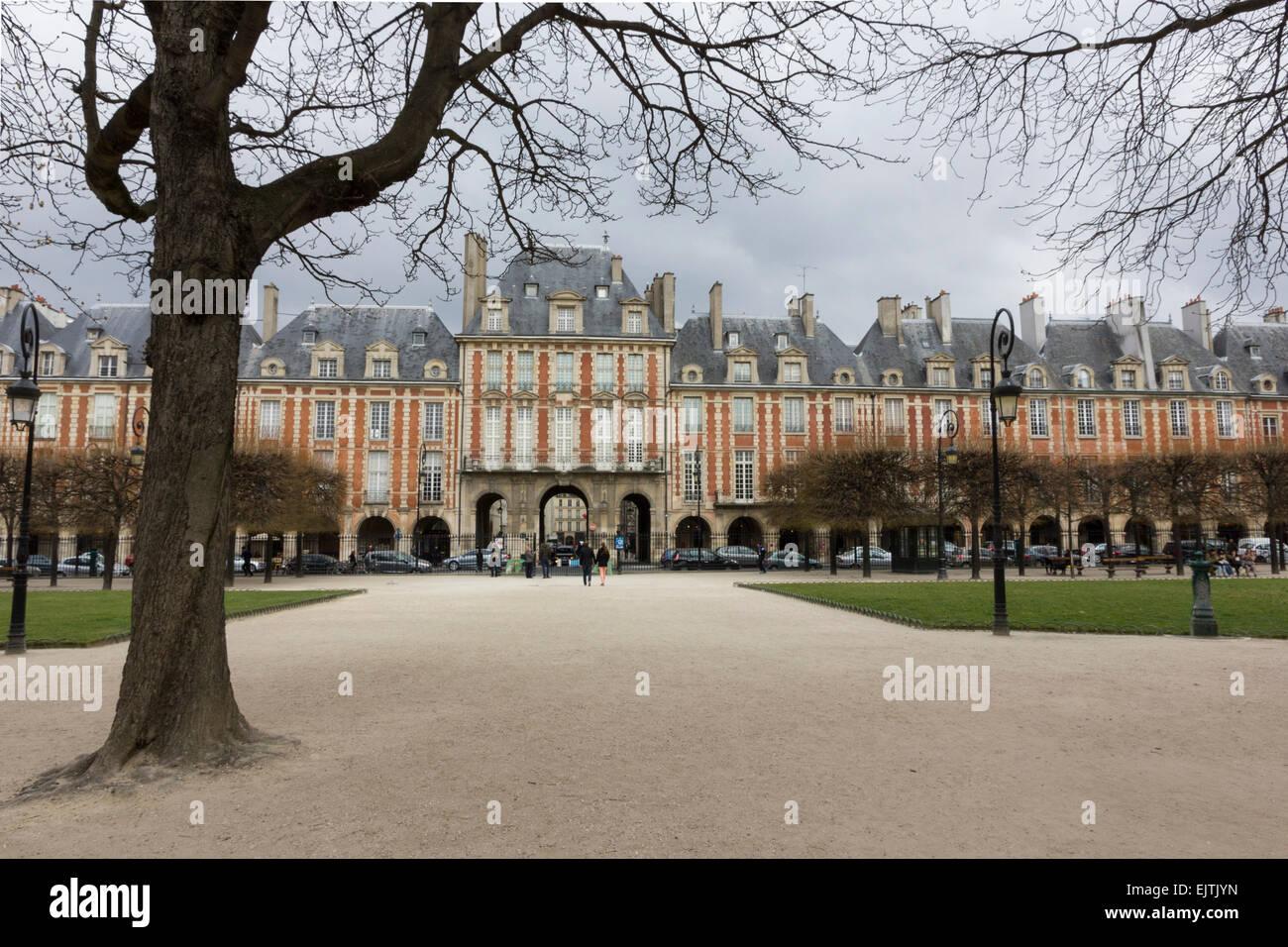 Place des Vosges, Paris - Stock Image